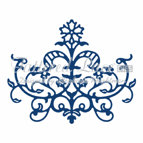 Tattered Lace Die Baroque Flourish - D803